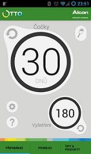 aplikace OTTO připomínač výměny