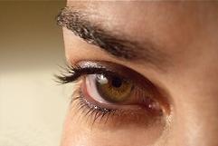 unavené oko